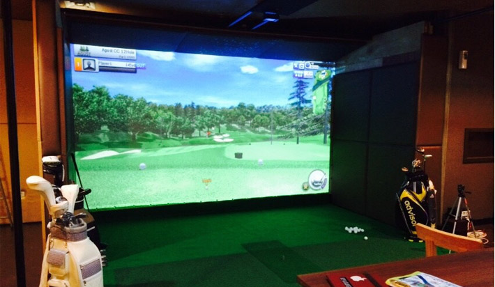 シミュレーションゴルフ設置店